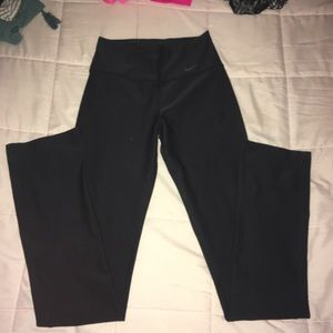 Black work out pants